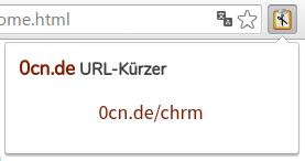 URL-Kürzer Browser-Erweiterung